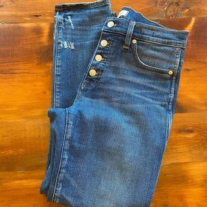Madewell Slim Straight Jeans Size: 29